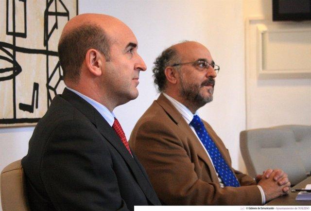 Francisco Martín Cabeza y Rafael Perezagua, Ayuntamiento de Toledo