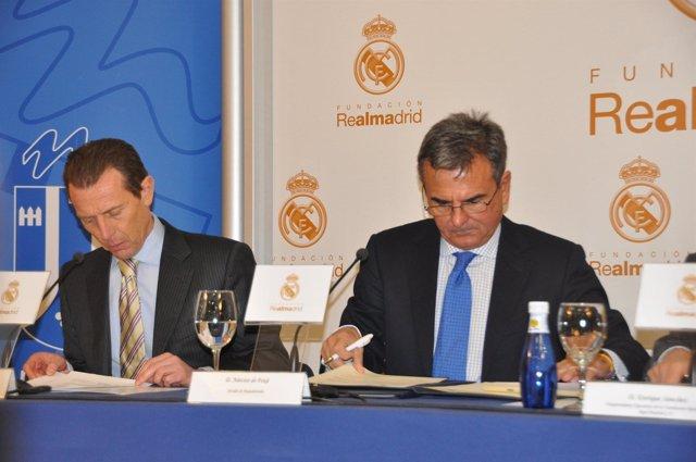Nota: 'El Ayuntamiento Y La Fundación Real Madrid Acuerdan Crear Una Escuela Dep