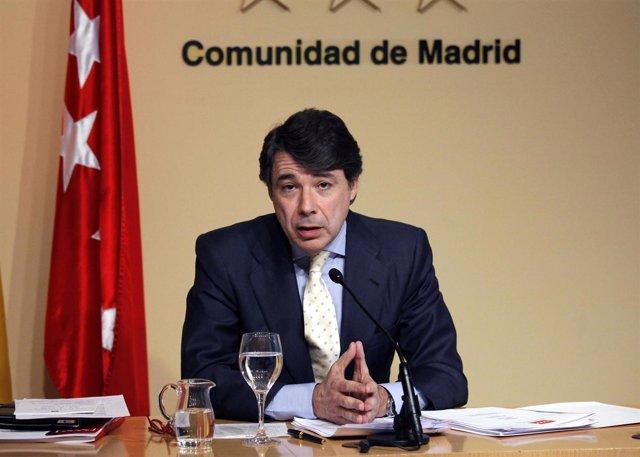 Vicepresidente de la Comunidad, Ignacio González