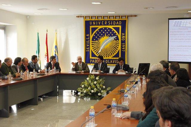 Presentación del Plan Estratégico de Turismo Pablo de Olavide