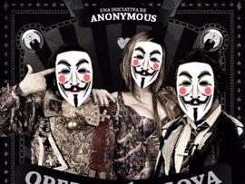 Anonymous apunta a los Goya