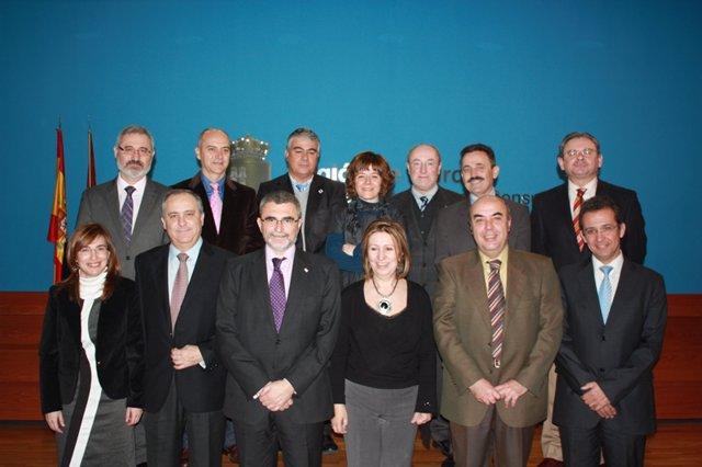 Sanidad firma los contratos de gestión para 2011
