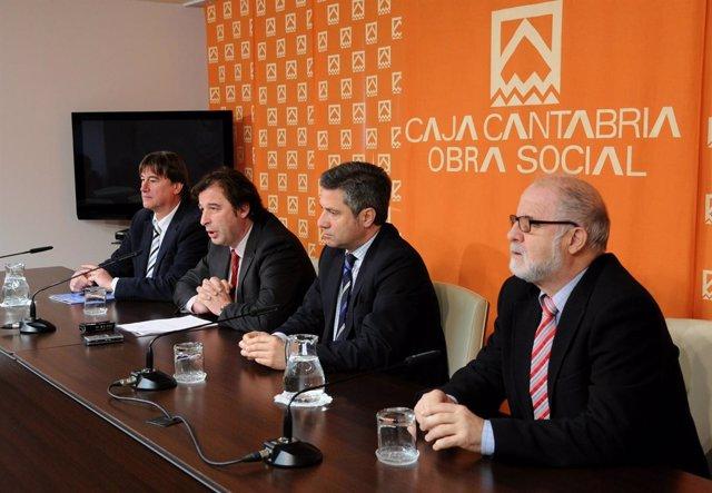 Presnetación programación cultural Caja Cantabria