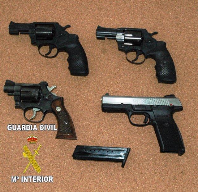 Armas intervenidas