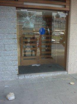 Foto de la sede del BNG en Santiago