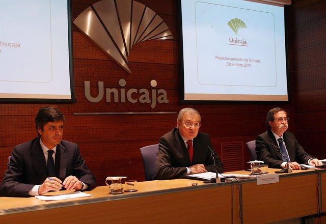 Presentación de estados financieros de Unicaja