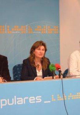 La diputada del PP por Almería en el Parlamento Rosalía Espinosa