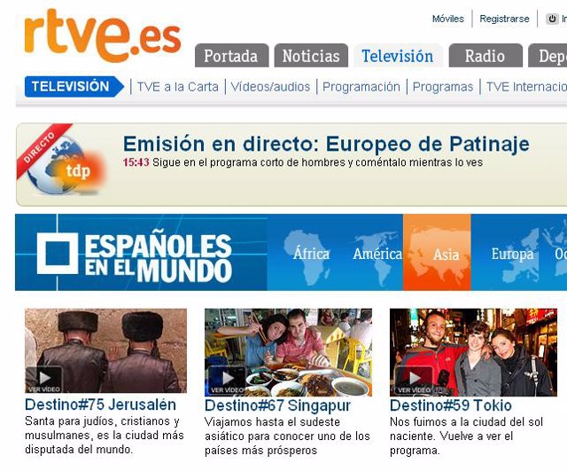 Web de RTVE