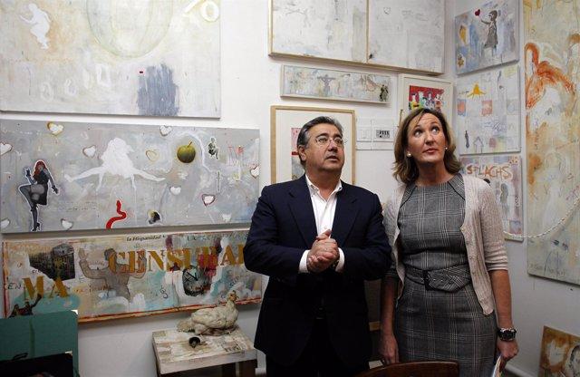 """Zoido Presentando El Proyecto""""Sevilla Industria Cultural"""""""