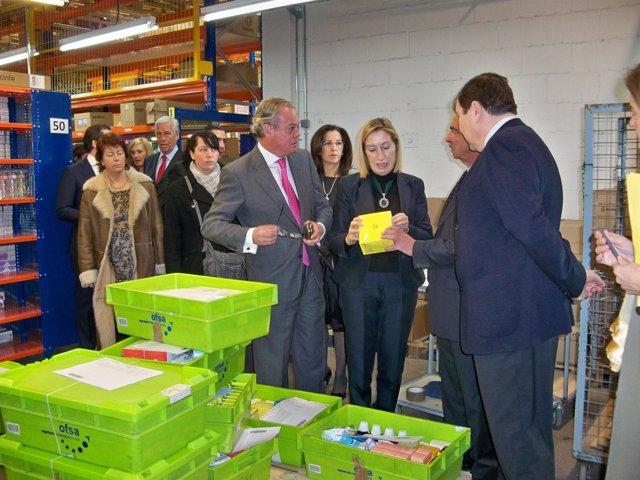 Inauguración almacén Grupo Cofares