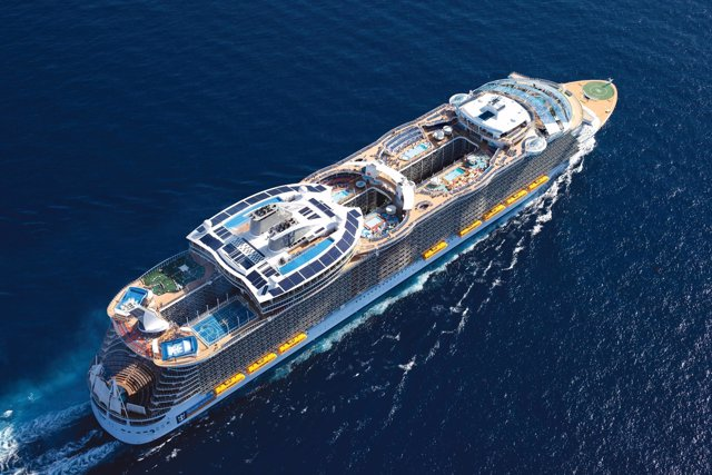 El barco 'Allure of the seas'