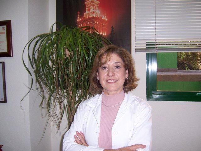 Elena Franco, directora del Centro de Transfusión de Sevilla