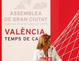 """Alborch exige a Barberá que retire a Bellver las competencias de Urbanismo """"de forma inmediata"""""""