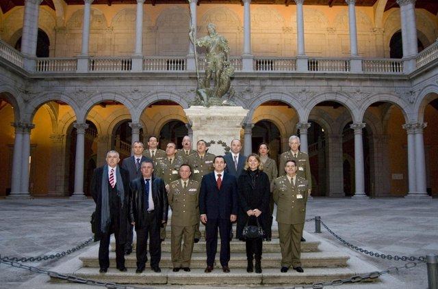 visita ministro defensa bosnia museo ejercito toledo