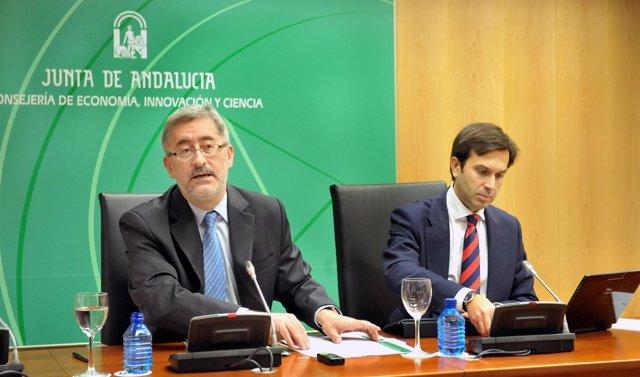 El consejero de Economía, Antonio Ávila