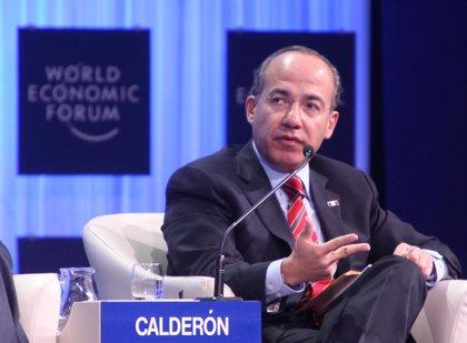 México.- Calderón sostiene que México es seguro para las inversiones a pesar de la violencia