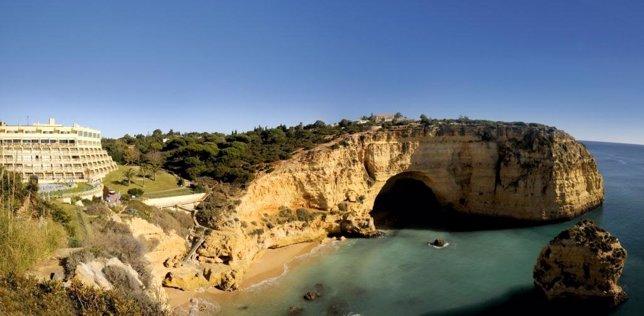 Hotel Tivoli Carvoeiro, en el Algarve (Portugal)