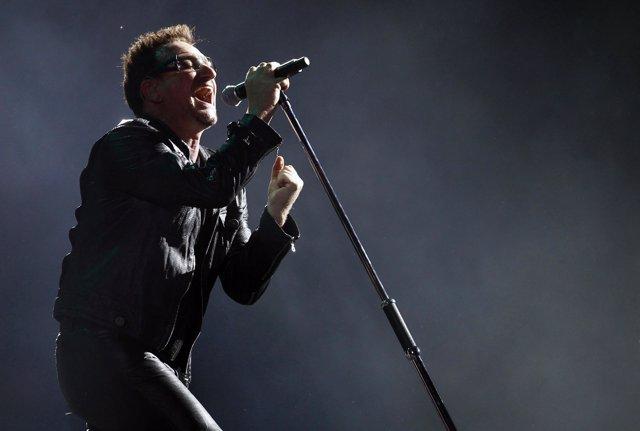 El cantante de U2, Bono