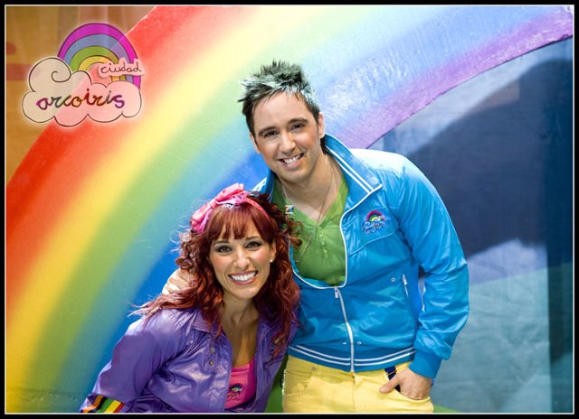 Juan D y Beatriz, de Ciudad Arcoiris