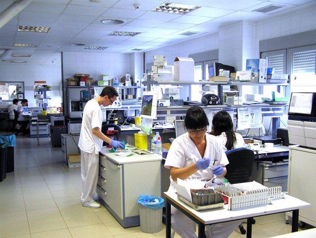 Laboratorio del Hospital Virgen Luz Cuenca