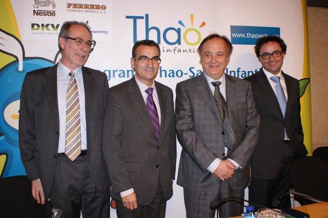 Presentación del programa de la Fundación Taho contra la obesidad infantil