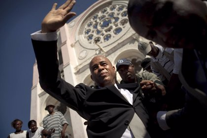 """Martelly promete """"mejorar la vida de los haitianos"""" en cinco años"""