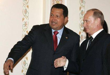 Putin y Chávez analizan el desarrollo de sus acuerdos bilaterales
