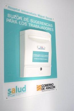 El Hospital Materno-Infantil depende del complejo sanitario Miguel Servet de Zar