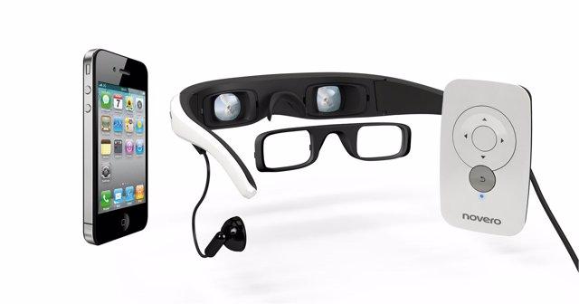 Una empresa alemana presenta las vídeo-gafas