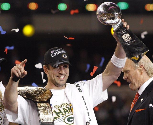 Los Packers de Aaron Rodgers consiguieron la XLV Super Bowl