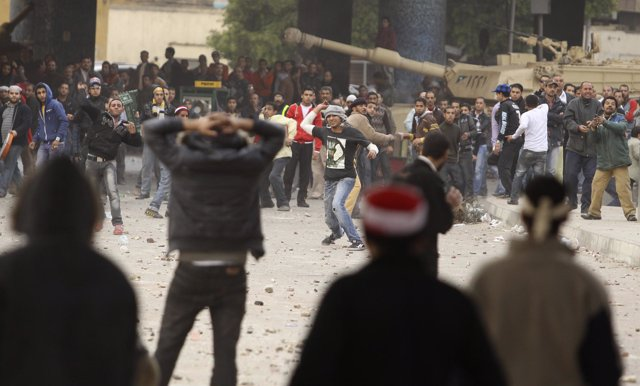 Disturbios en Egipto contra Mubarak