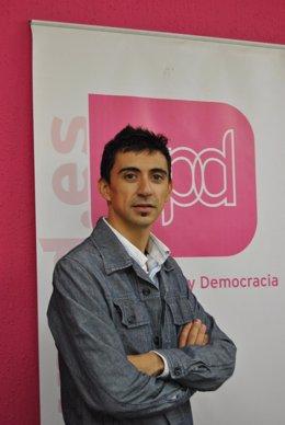 El candidato de UPyD a la Alcaldía de Murcia, Ruben Juan Serna