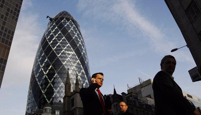 City Londinense, Londres, ejecutivo londinense, Reino Unido