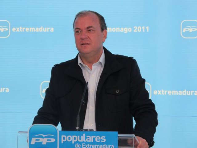 José Antonio Monago, del PP de Extremadura