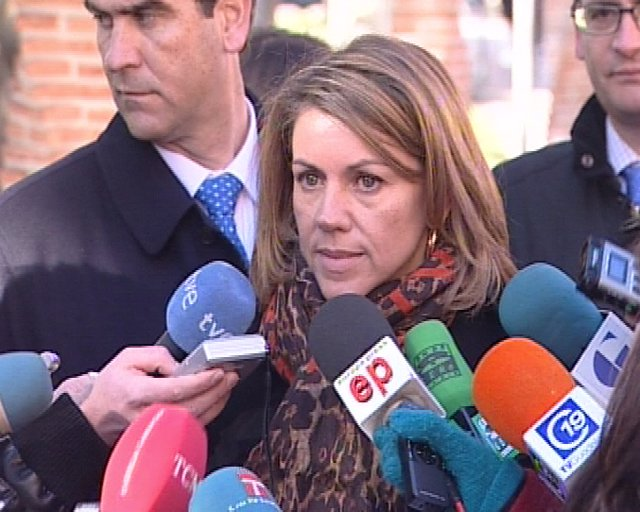 Cospedal critica que Gobierno festeje el pacto