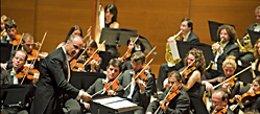 Imagen de la Orquesta Sinfónica de Euskadi.