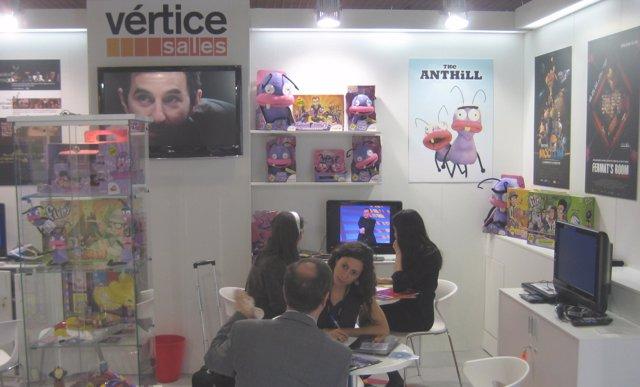 Trabajadores De Vértice Sales, En Las Oficinas De La Empresa.