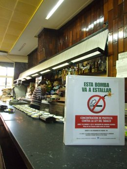 Comunicado/Convocatoria Concentración Sector Hostelero Contra Ley Tabaco Frente