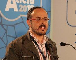 Alejandro Fernández, líder municipal del PP en Tarragona