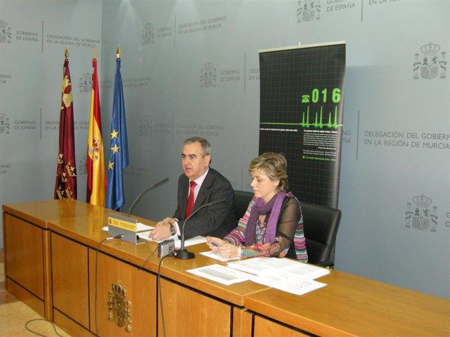 González Tovar y Munuera, en la rueda de prensa