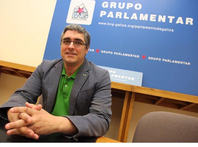 Carlos Aymerich, portavoz del Grupo Parlamentario del BNG