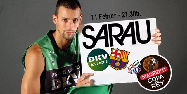 Jordi Trias, jugador del Joventut