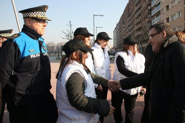 Agentes cívicos en Lleida