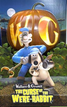 Los creadores de Wallace y Gromit crean su propia patente para distribuir sus co