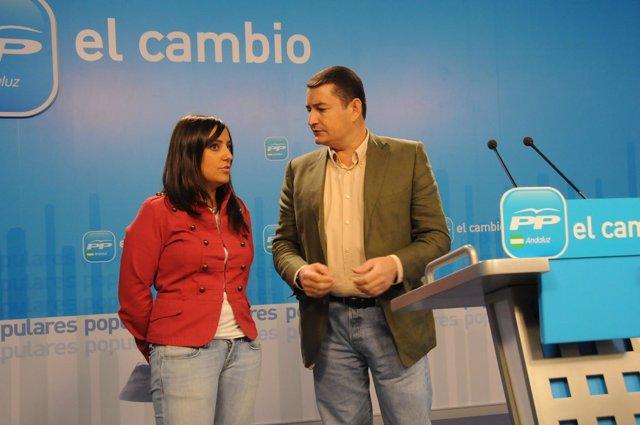 Antonio Sanz y Beatriz Jurado