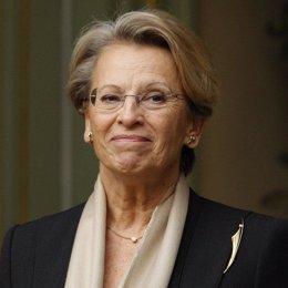 La ministra francesa del Interior, Michèle Alliot Marie