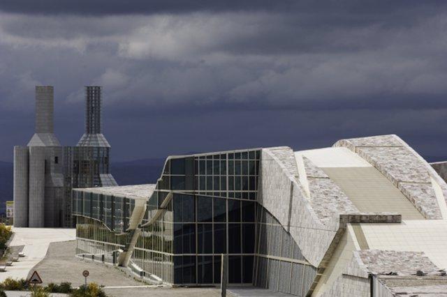 Cidade da Cultura de Galicia, del arquitecto Peter Eisenman