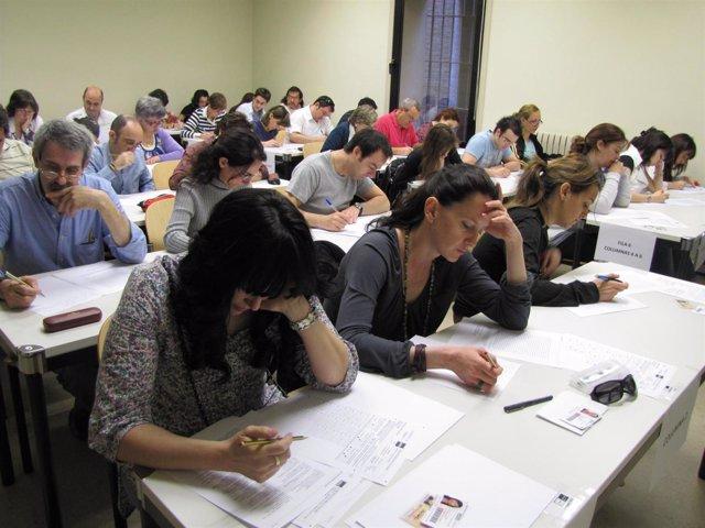 Alumnos De La UNED De Tudela Comienzan Sus Exámenes.