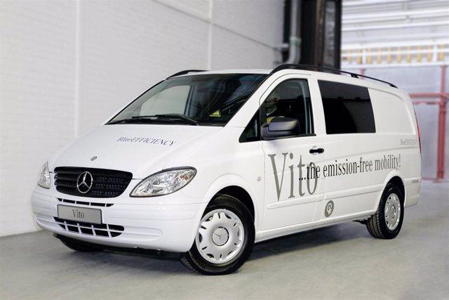 Mercedes 'E-Cell'.