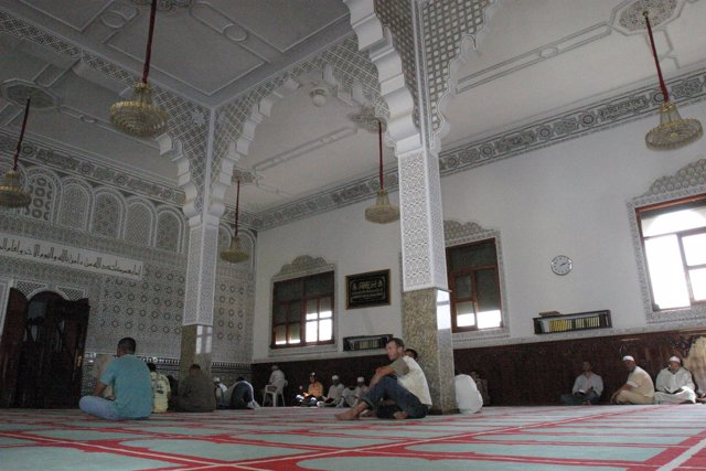 Interior de la Mezquita de Ceuta